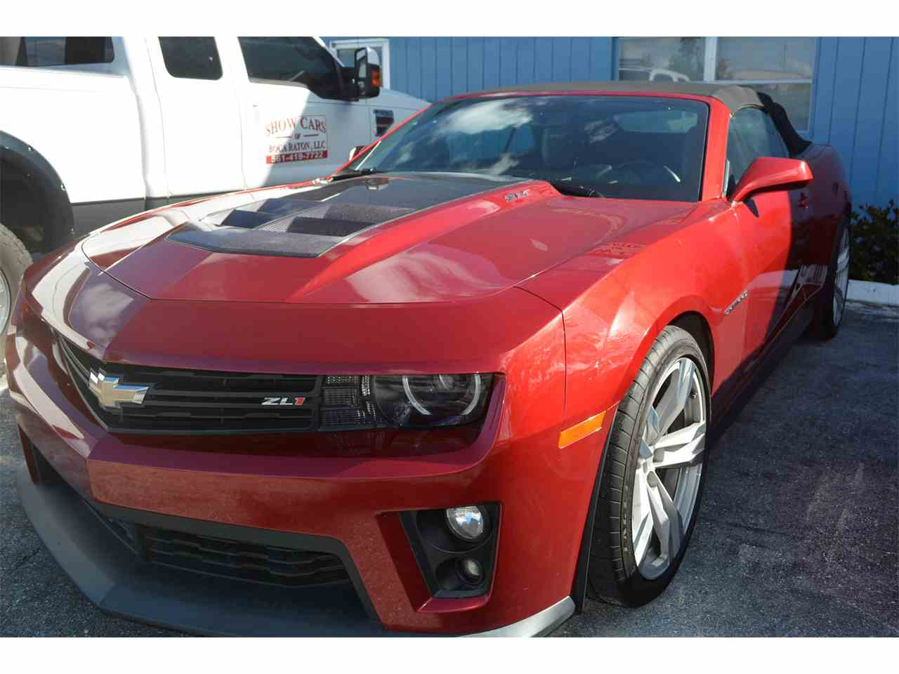 Large Picture of '13 Camaro - M87V