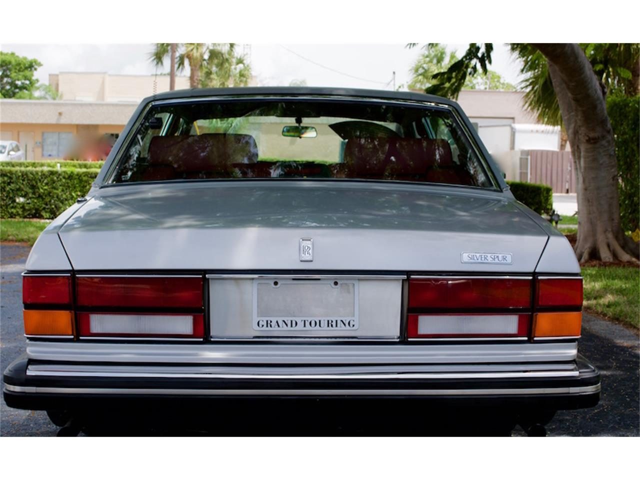 Large Picture of 1986 Rolls-Royce Silver Spur Offered by Show Cars of Boca Raton - M883
