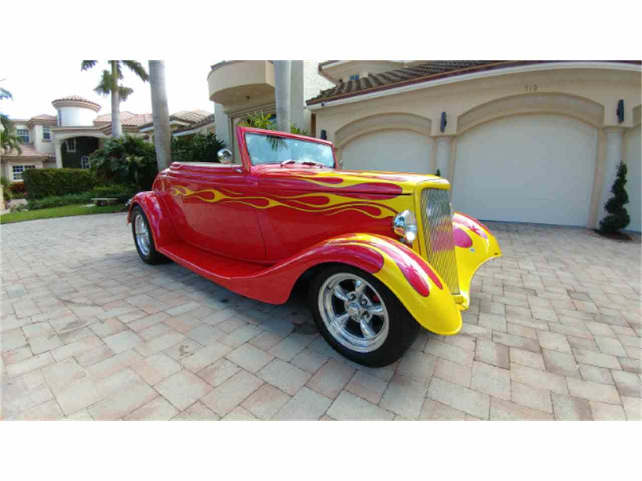 Large Picture of '34 Roadster located in Boca Raton Florida Offered by Show Cars of Boca Raton - M89U
