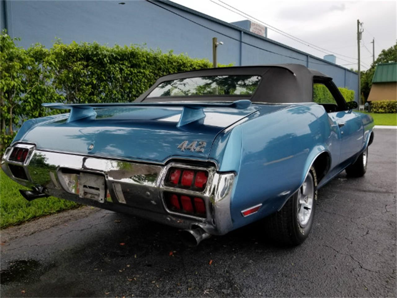 Large Picture of Classic 1972 Oldsmobile 442 located in Boca Raton Florida Offered by Show Cars of Boca Raton - M89W