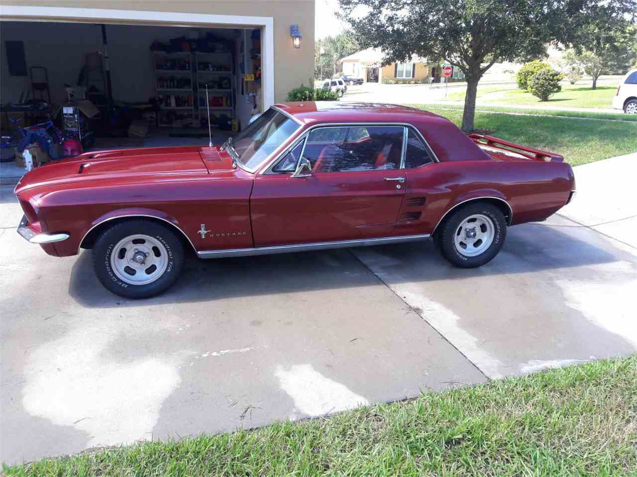 Large Picture of '67 Mustang - M8AB