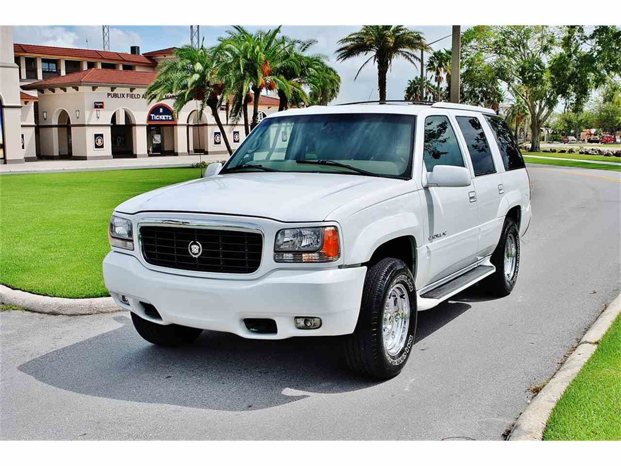 2000 Cadillac Escalade for Sale | ClicCars.com | CC-1030719
