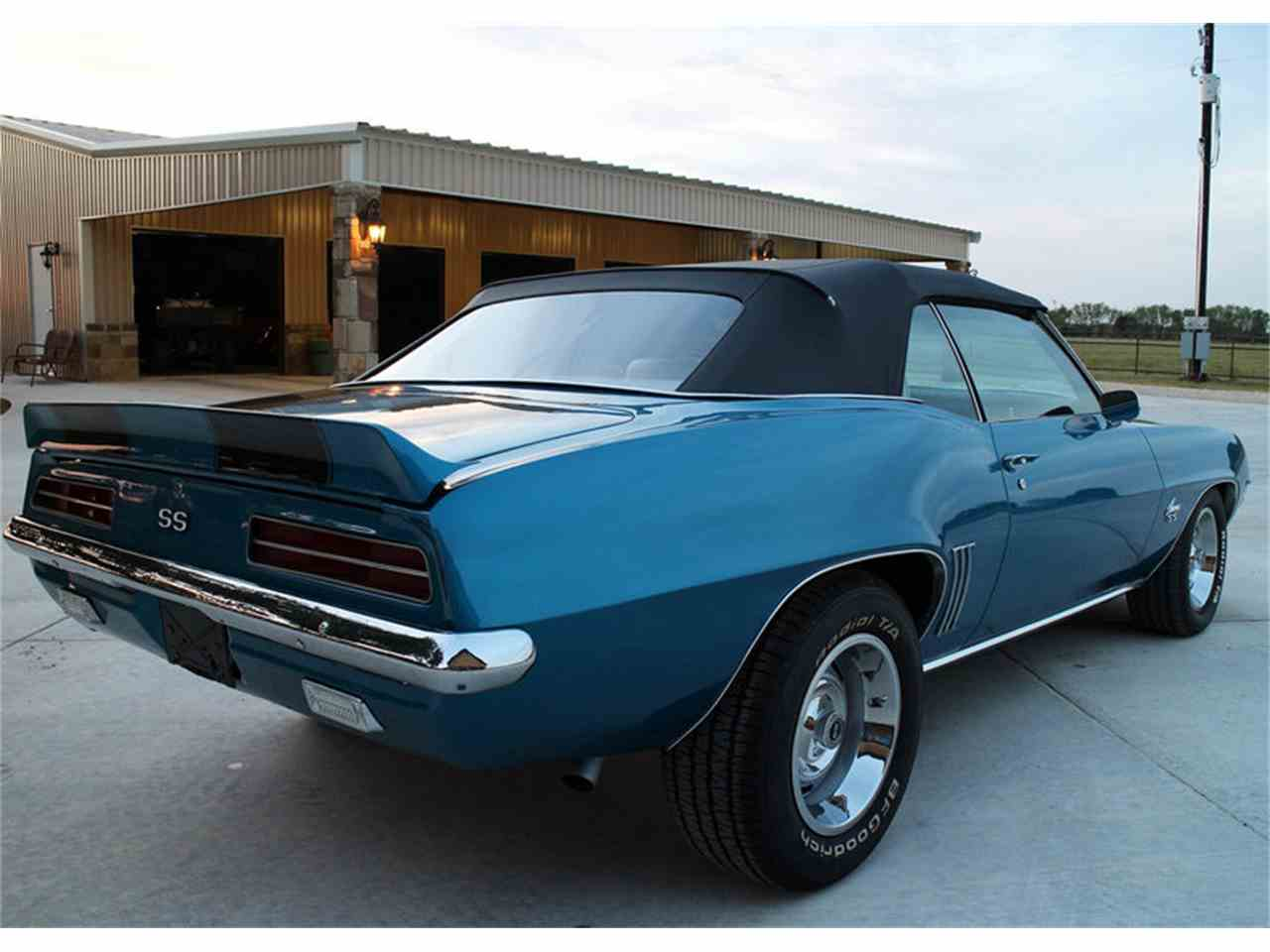 1969 chevrolet camaro rs ss for sale cc 1037276. Black Bedroom Furniture Sets. Home Design Ideas