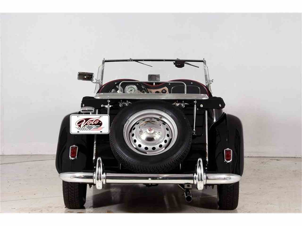 Large Picture of 1952 MG TD located in Volo Illinois Offered by Volo Auto Museum - M8EW