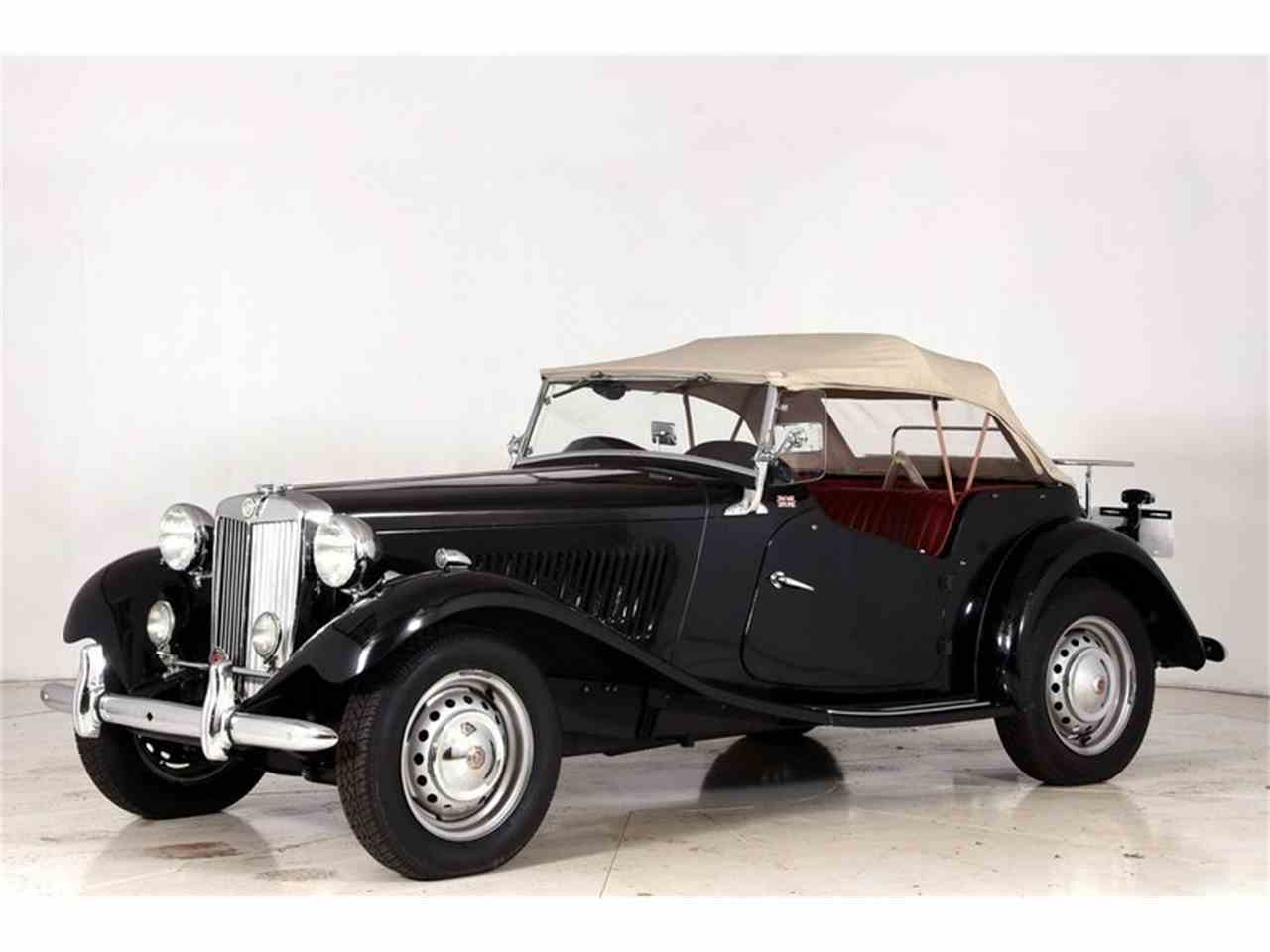 Large Picture of 1952 MG TD located in Volo Illinois - $34,998.00 Offered by Volo Auto Museum - M8EW