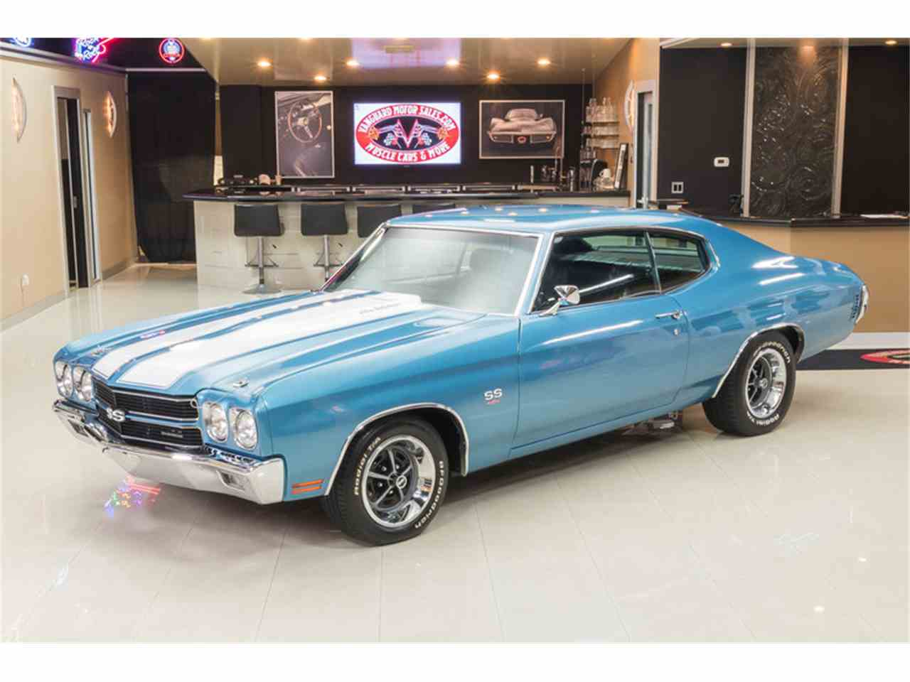 Large Picture of Classic '70 Chevelle located in Plymouth Michigan Offered by Vanguard Motor Sales - M8F5