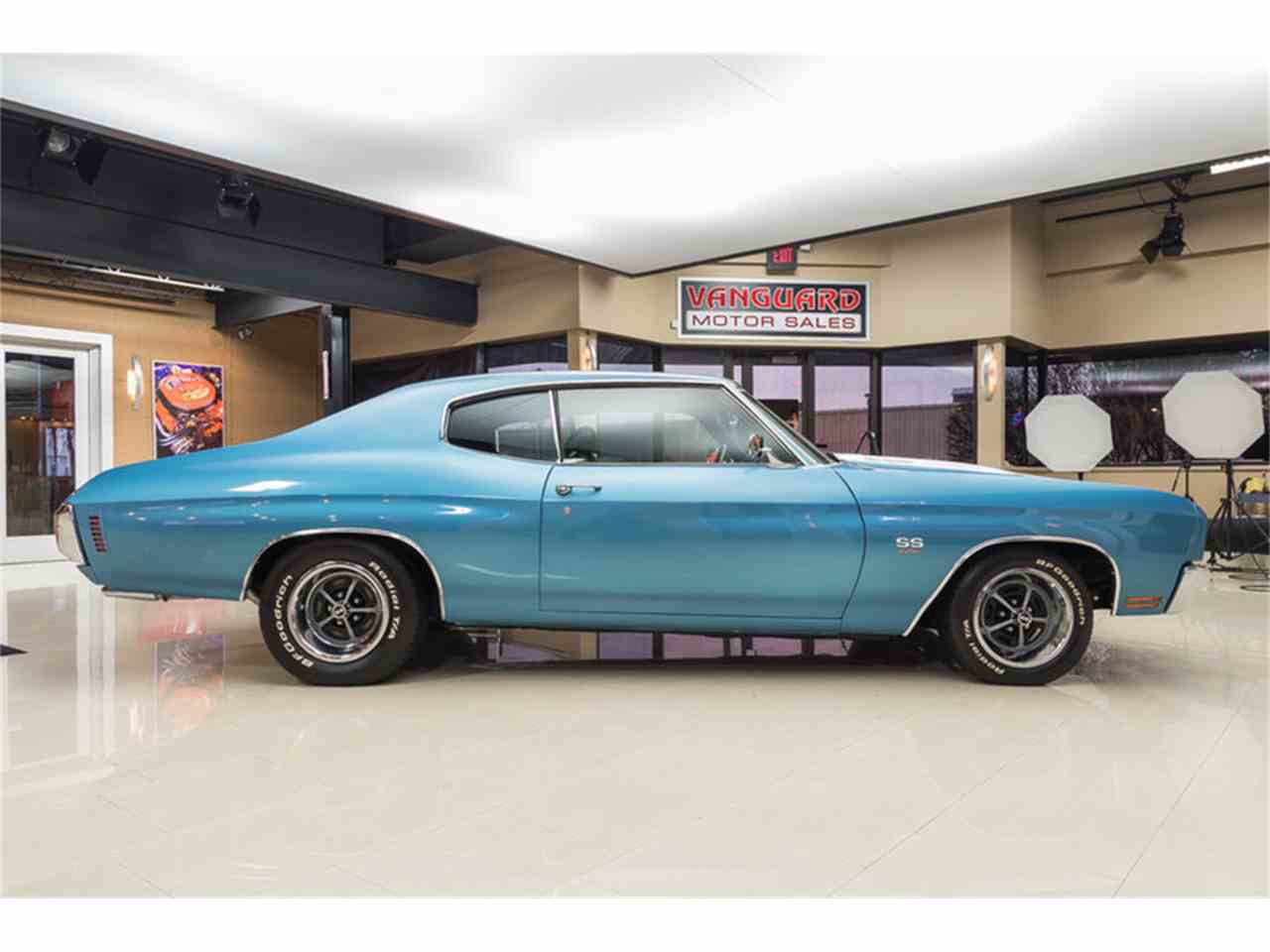 Large Picture of 1970 Chevrolet Chevelle located in Michigan - $64,900.00 Offered by Vanguard Motor Sales - M8F5