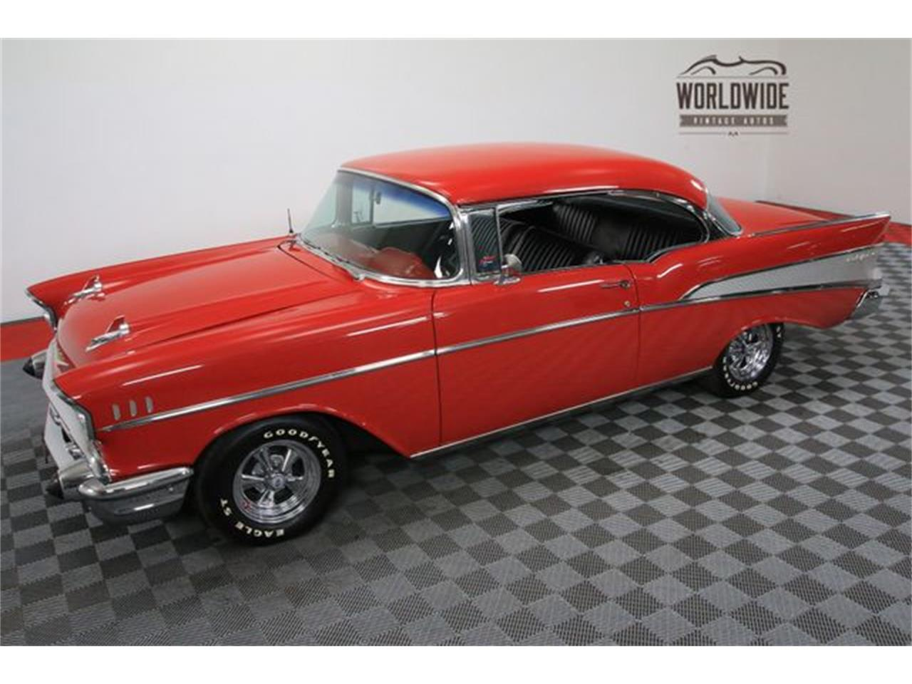 Large Picture of 1957 Chevrolet Bel Air located in Denver  Colorado Offered by Worldwide Vintage Autos - M8GB