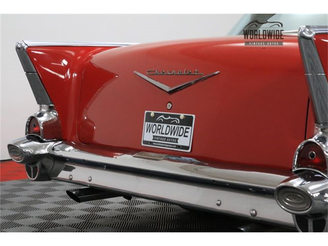 Large Picture of 1957 Chevrolet Bel Air located in Denver  Colorado - $34,900.00 Offered by Worldwide Vintage Autos - M8GB