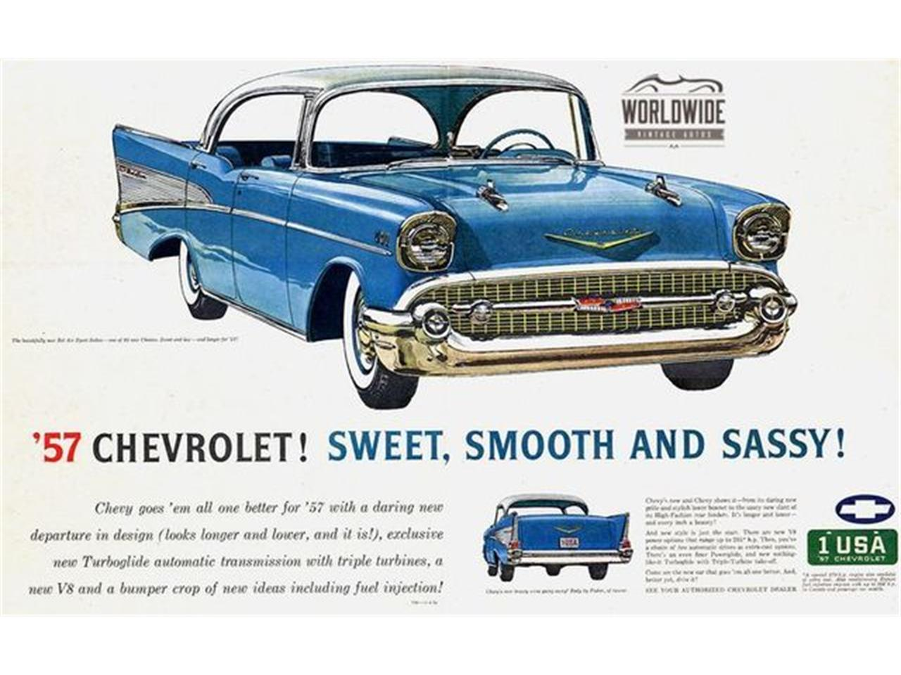 Large Picture of Classic '57 Chevrolet Bel Air located in Denver  Colorado - M8GB