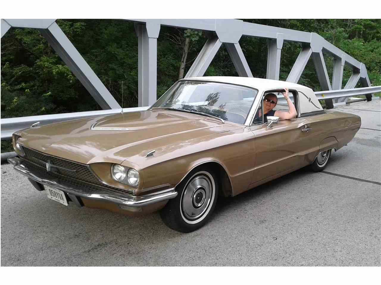 1966 ford thunderbird for sale cc 1037538. Black Bedroom Furniture Sets. Home Design Ideas