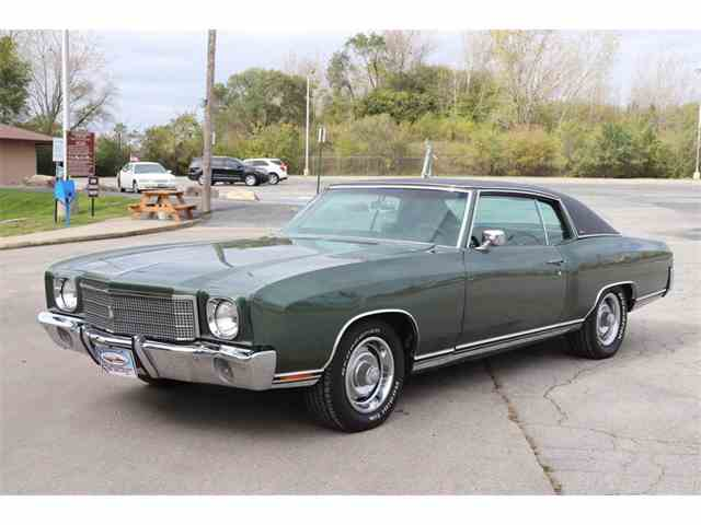 Picture of '70 Chevrolet Monte Carlo located in Illinois Offered by Midwest Car Exchange - M8MQ