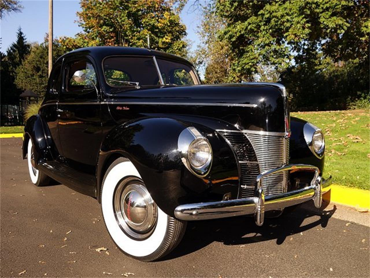 For Sale: 1940 Ford Business Coupe in Eugene, Oregon