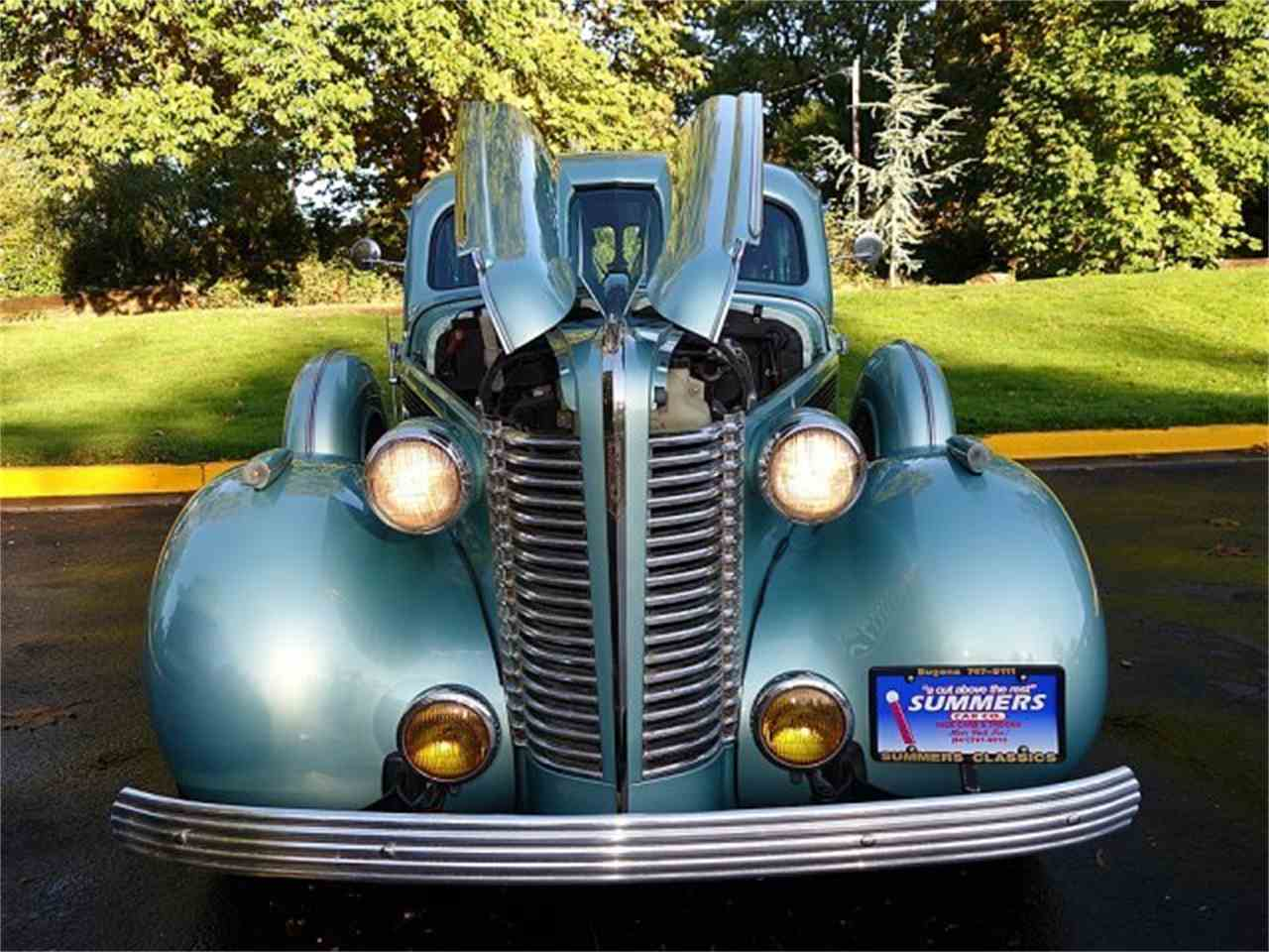 Large Picture of 1938 4-Dr Sedan located in Eugene Oregon Offered by Summers Classic Car Company - M8UY