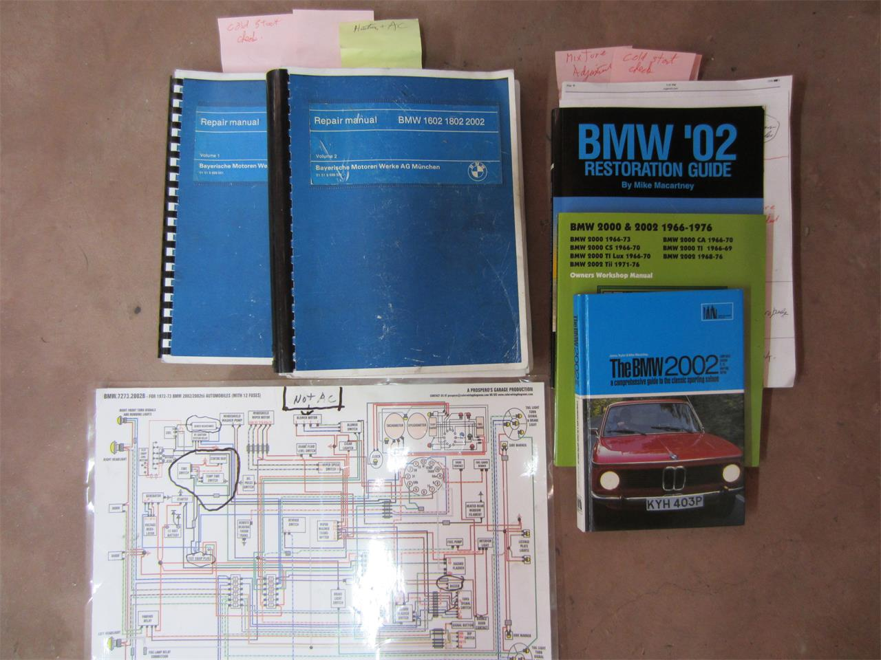 1972 Bmw 2002tii For Sale Cc 1037951 1968 2002 Wiring Diagram Large Picture Of 72 M8vz