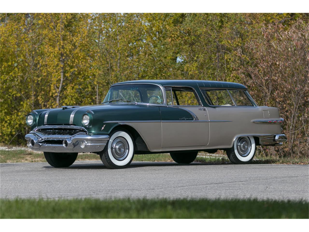 Large Picture of Classic 1956 Pontiac Star Chief located in St. Charles Missouri Offered by Fast Lane Classic Cars Inc. - M8Z0