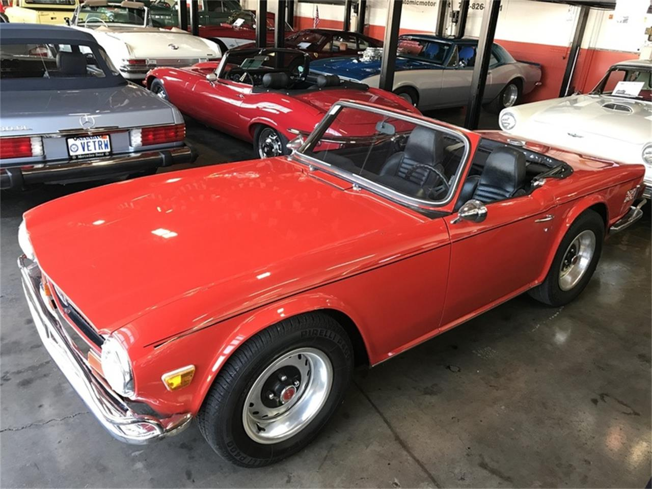 Large Picture of '72 TR6 located in Henderson Nevada - M8ZT