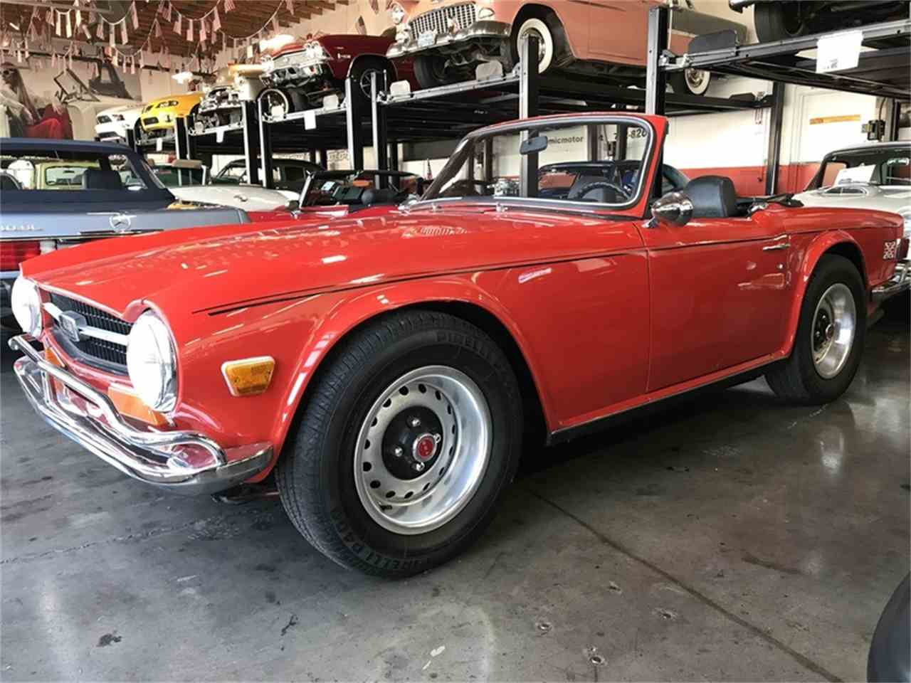 Large Picture of '72 TR6 - M8ZT