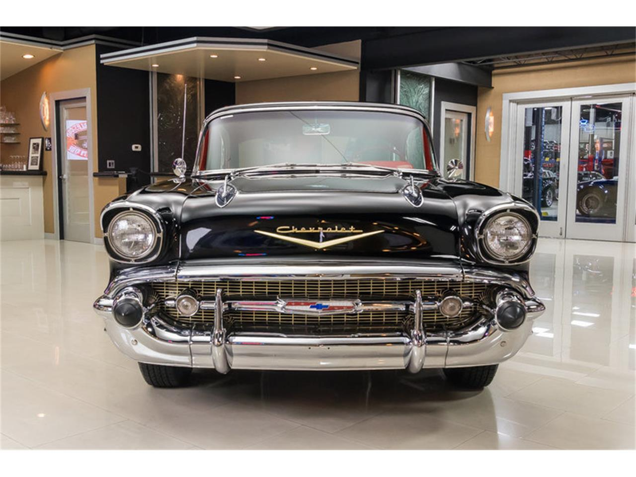 Large Picture of '57 Chevrolet Bel Air located in Michigan - $59,900.00 Offered by Vanguard Motor Sales - M90R