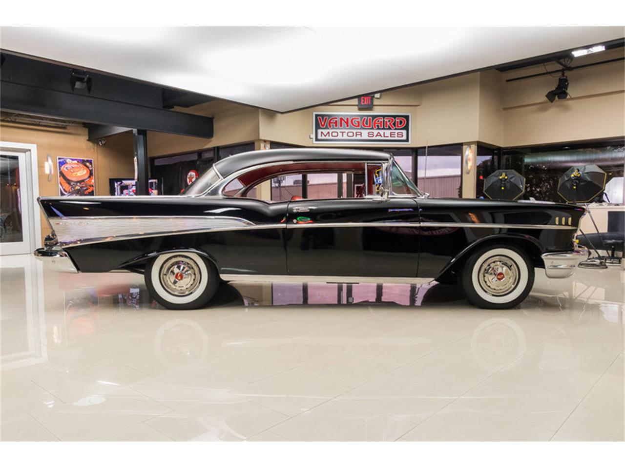 Large Picture of '57 Bel Air Offered by Vanguard Motor Sales - M90R