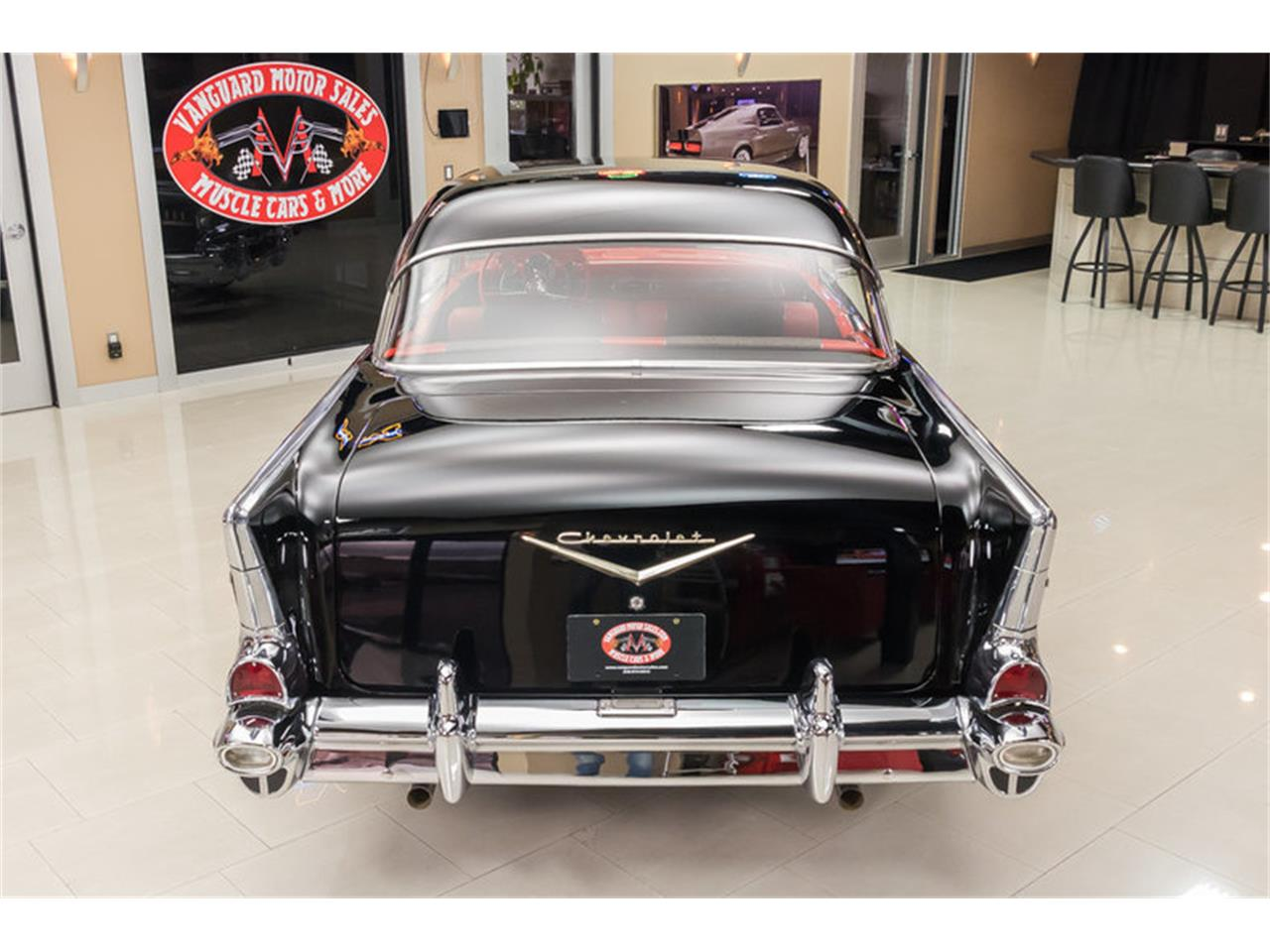 Large Picture of Classic 1957 Chevrolet Bel Air located in Plymouth Michigan - $59,900.00 Offered by Vanguard Motor Sales - M90R