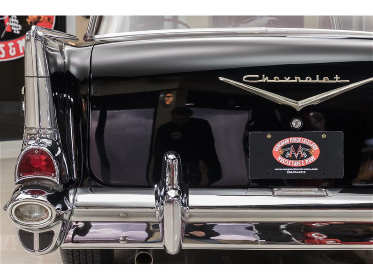 Large Picture of Classic '57 Chevrolet Bel Air located in Plymouth Michigan - $59,900.00 - M90R