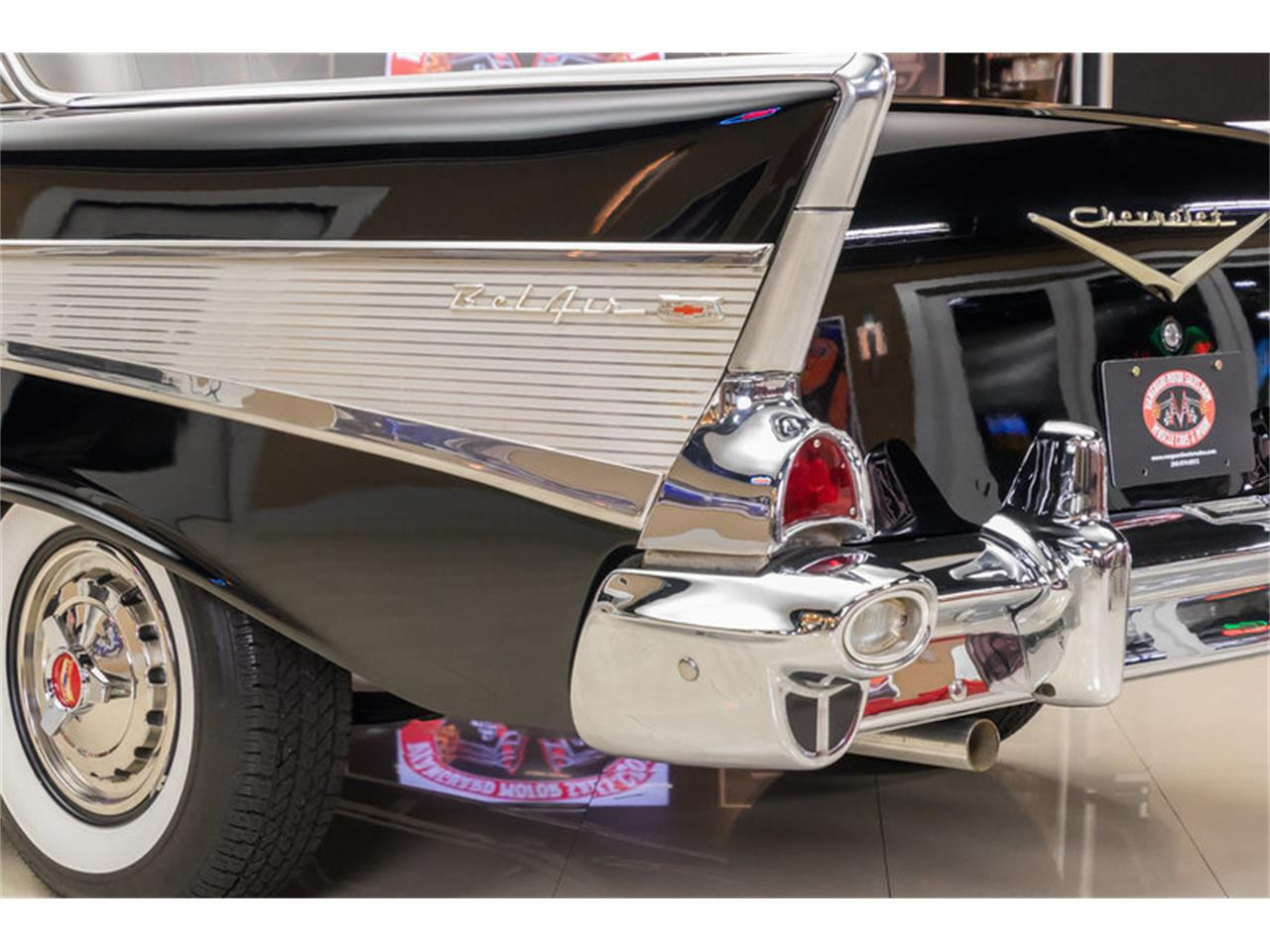 Large Picture of Classic '57 Chevrolet Bel Air located in Michigan Offered by Vanguard Motor Sales - M90R