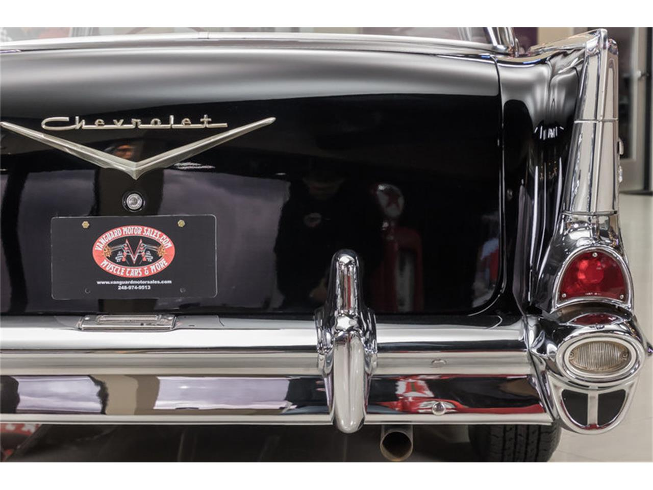 Large Picture of '57 Chevrolet Bel Air located in Michigan Offered by Vanguard Motor Sales - M90R