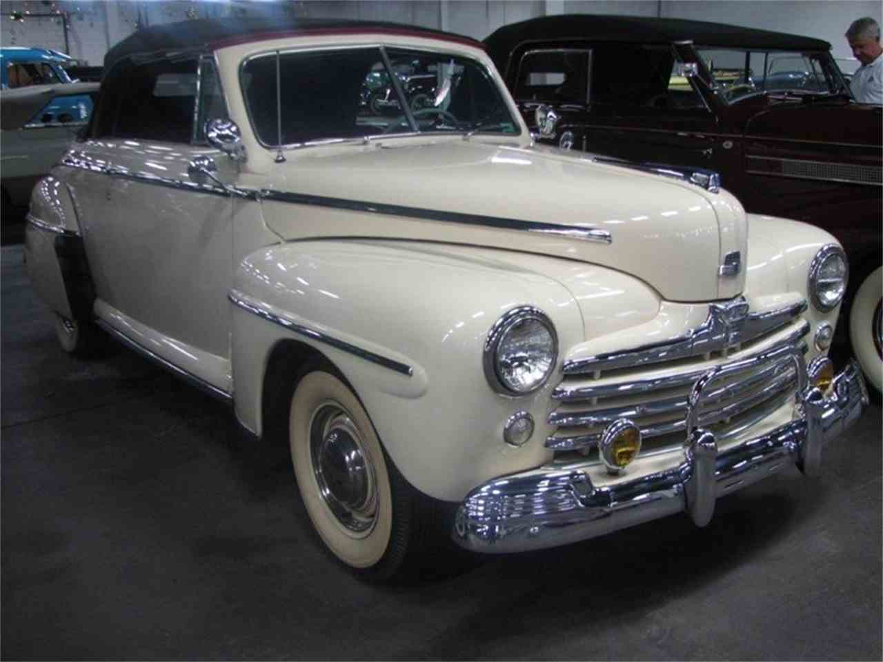1947 ford convertible for sale cc 1038293. Black Bedroom Furniture Sets. Home Design Ideas
