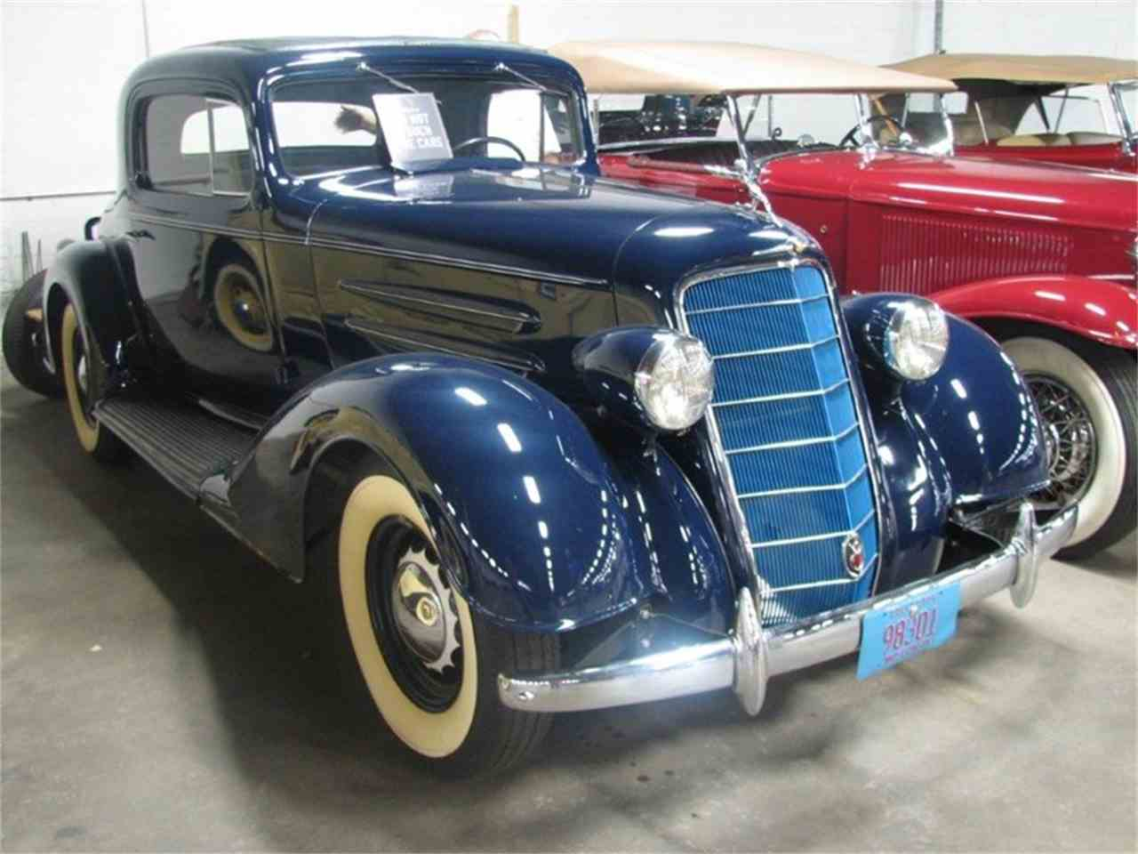 1934 Oldsmobile 3 Window Coupe For Sale