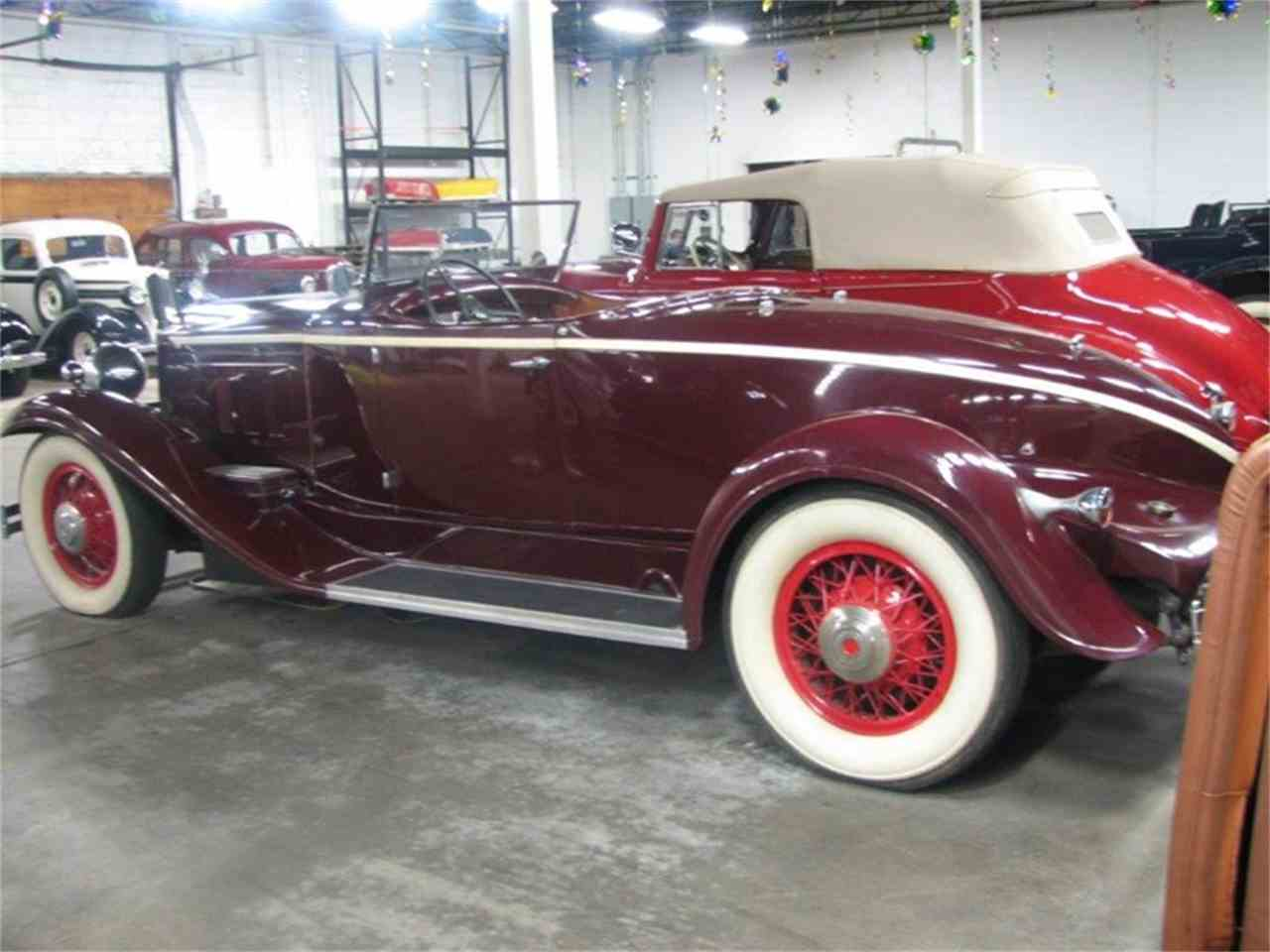 1931 Packard Boat Tail Roadster For Sale