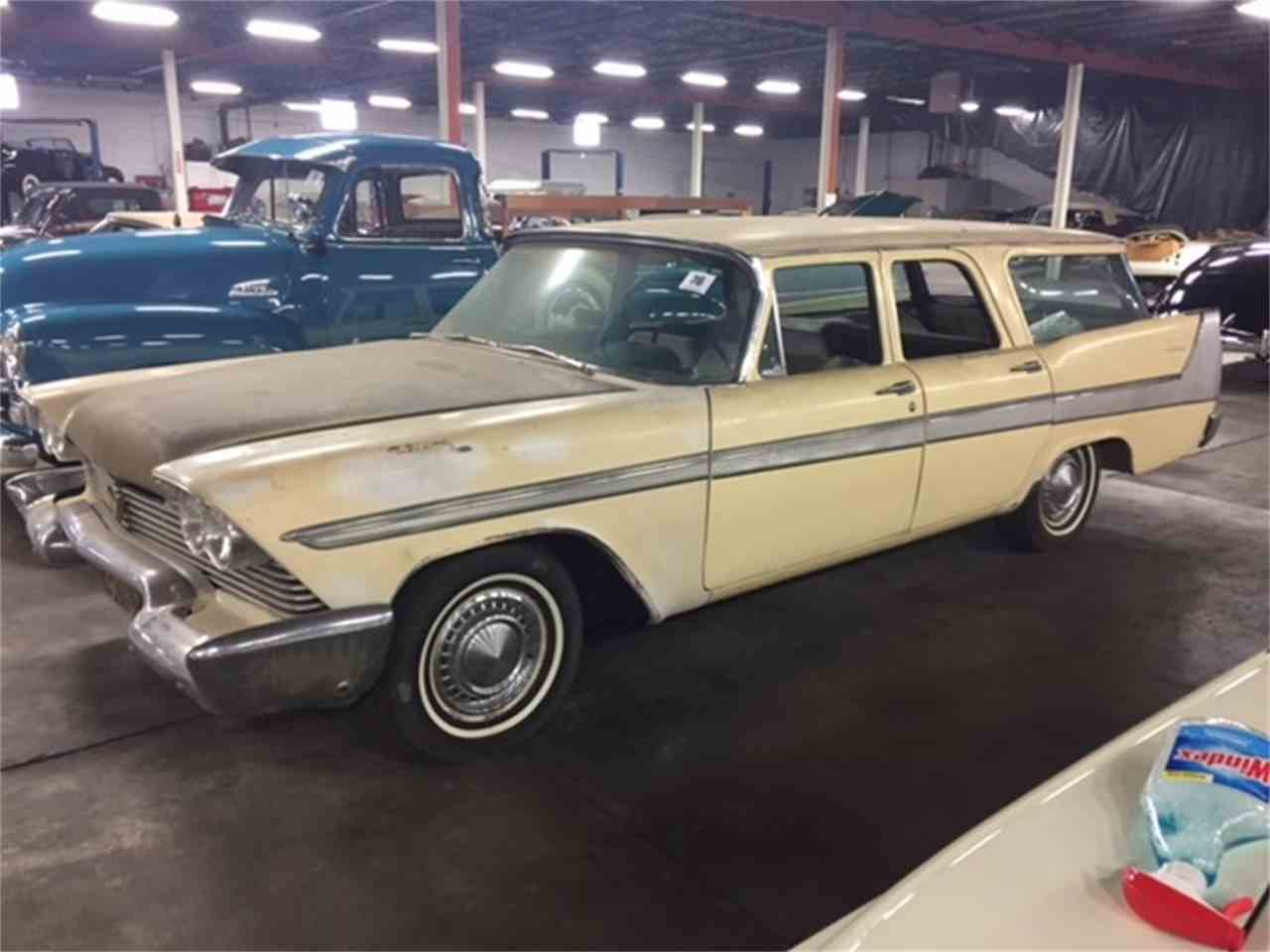 1958 plymouth suburban for sale cc 1038335. Black Bedroom Furniture Sets. Home Design Ideas