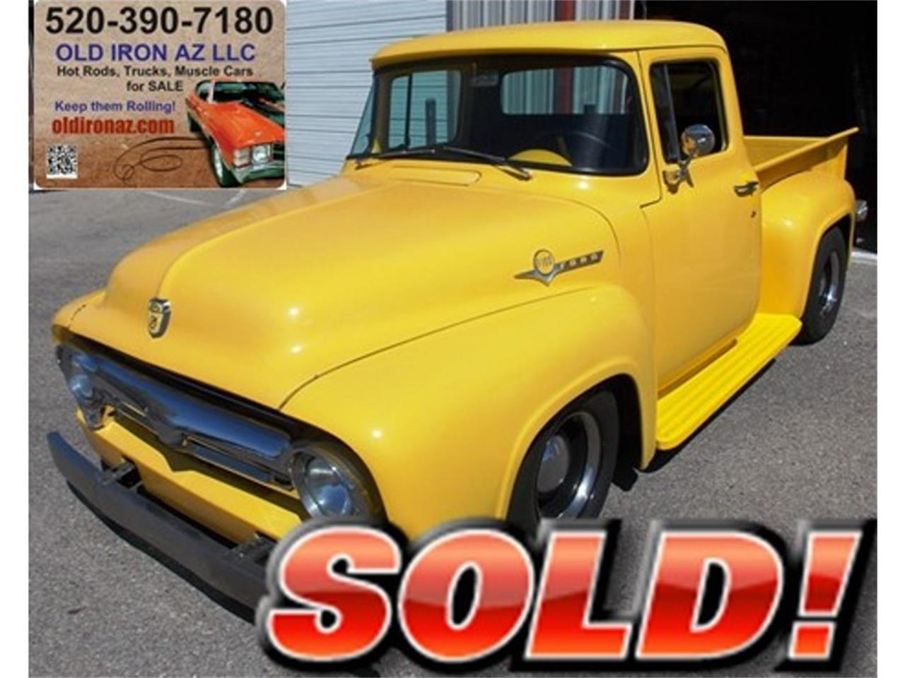 1956 Ford F100 For Sale Cc 1038356 Brake Wiring Large Picture Of 56 M978