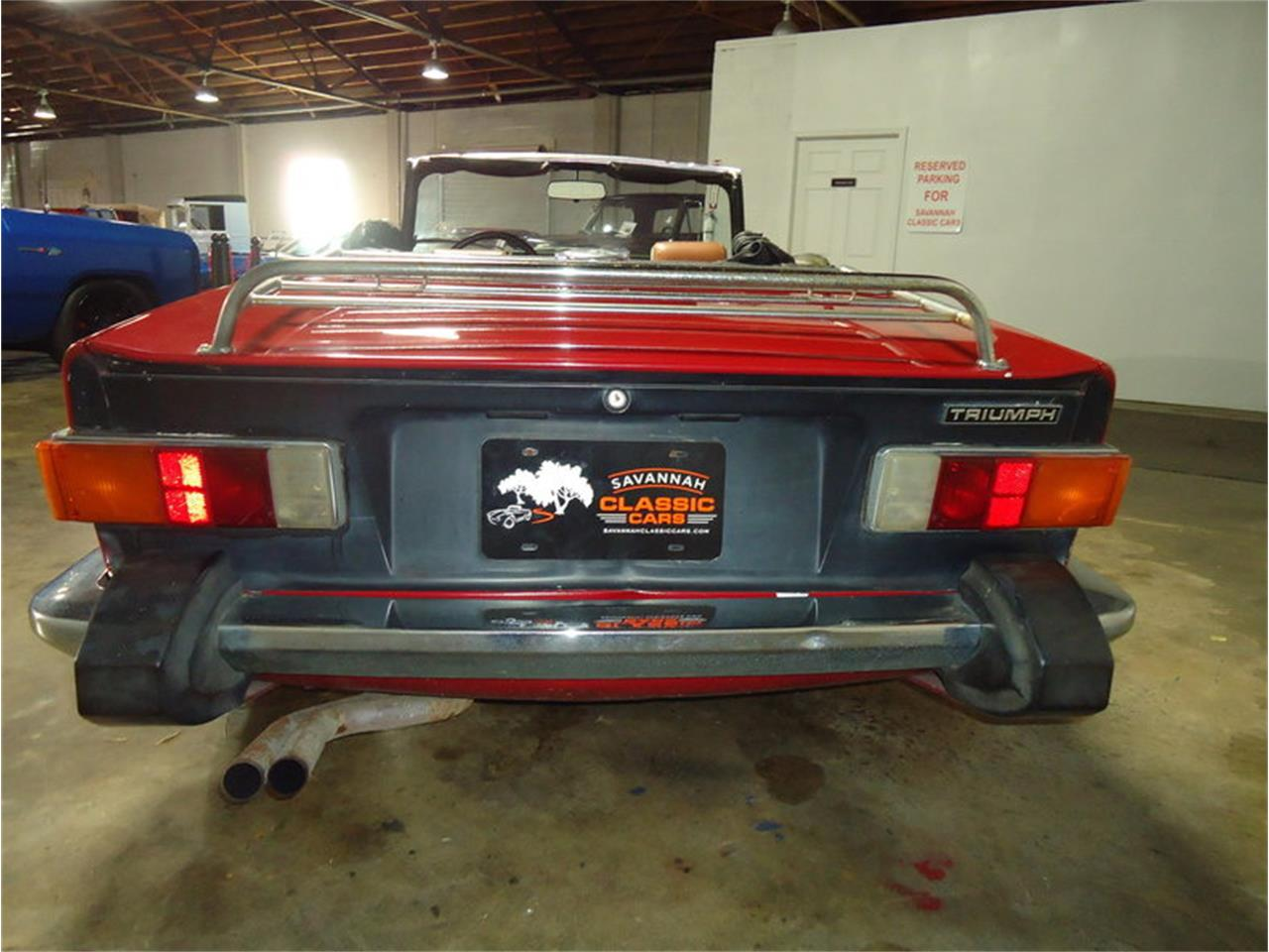 Large Picture of '74 TR6 - M9G0
