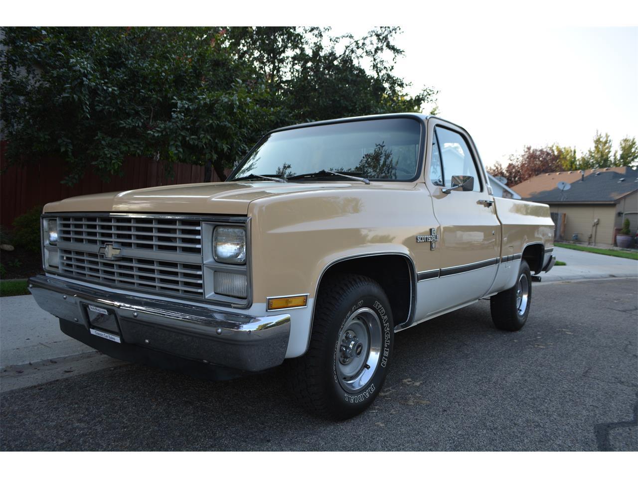 1983 Chevrolet Scottsdale For Sale Cc 1038794 Chevy Silverado Crew Cab Large Picture Of 83 M9je