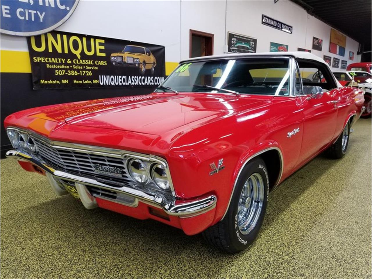 Large Picture Of 66 Impala Ss Convertible 396 M9jt