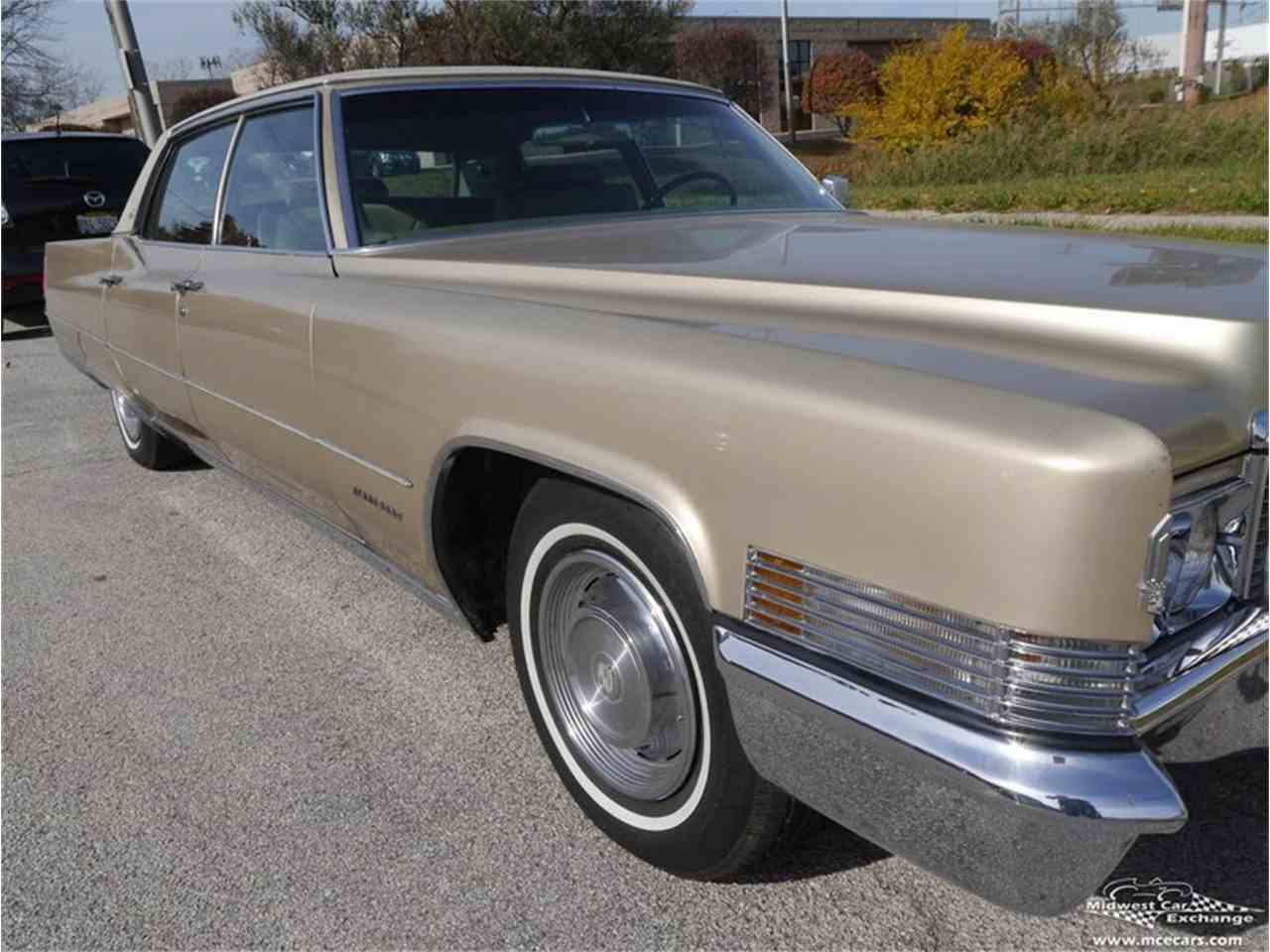 Large Picture of Classic 1970 Cadillac Fleetwood Brougham - $12,900.00 - M9KI
