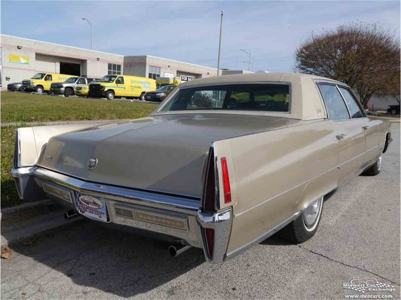 Large Picture of Classic 1970 Cadillac Fleetwood Brougham located in Illinois - M9KI