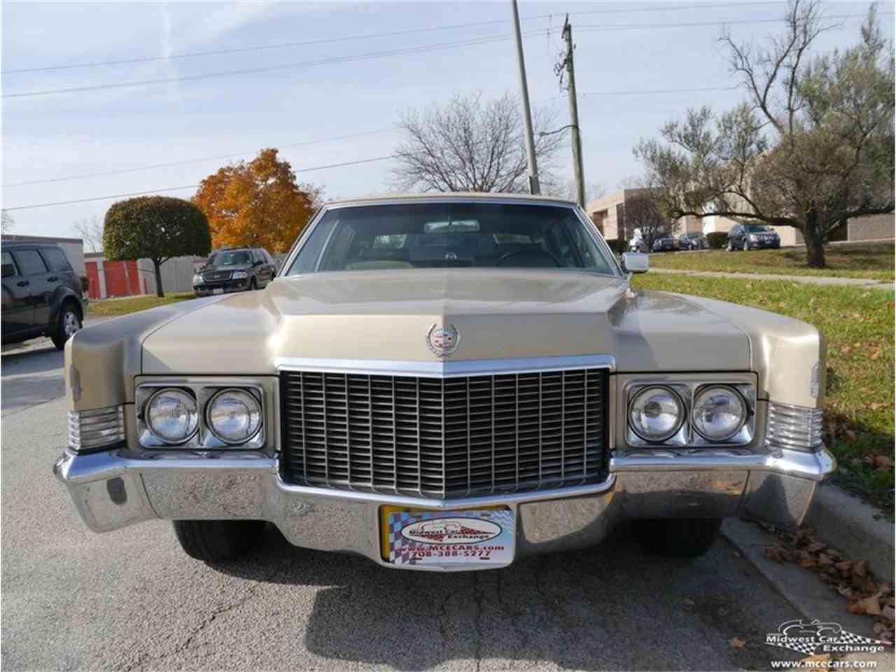 Large Picture of Classic 1970 Cadillac Fleetwood Brougham Offered by Midwest Car Exchange - M9KI