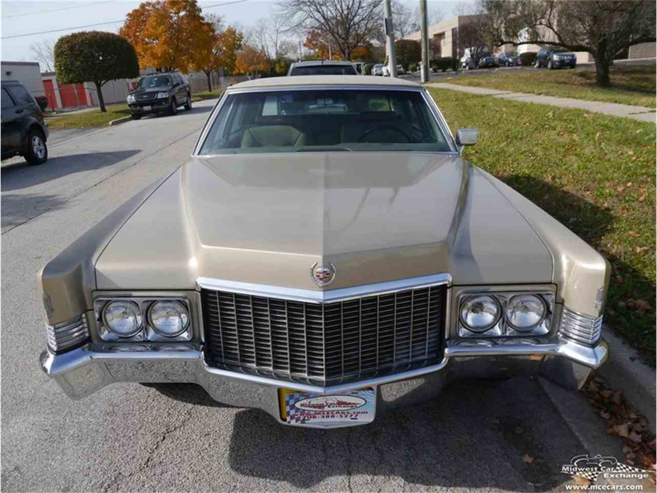 Large Picture of Classic 1970 Cadillac Fleetwood Brougham located in Illinois Offered by Midwest Car Exchange - M9KI