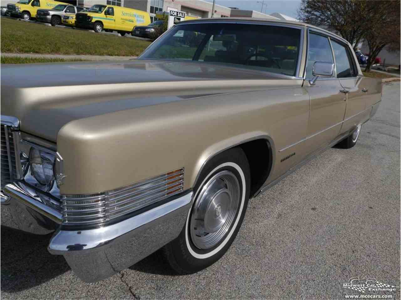 Large Picture of Classic '70 Cadillac Fleetwood Brougham located in Alsip Illinois - $12,900.00 - M9KI