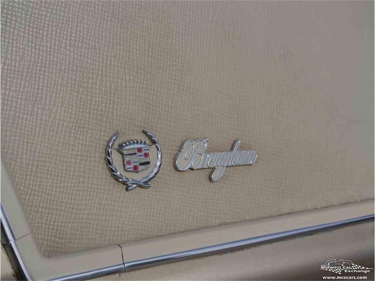 Large Picture of 1970 Fleetwood Brougham located in Illinois Offered by Midwest Car Exchange - M9KI