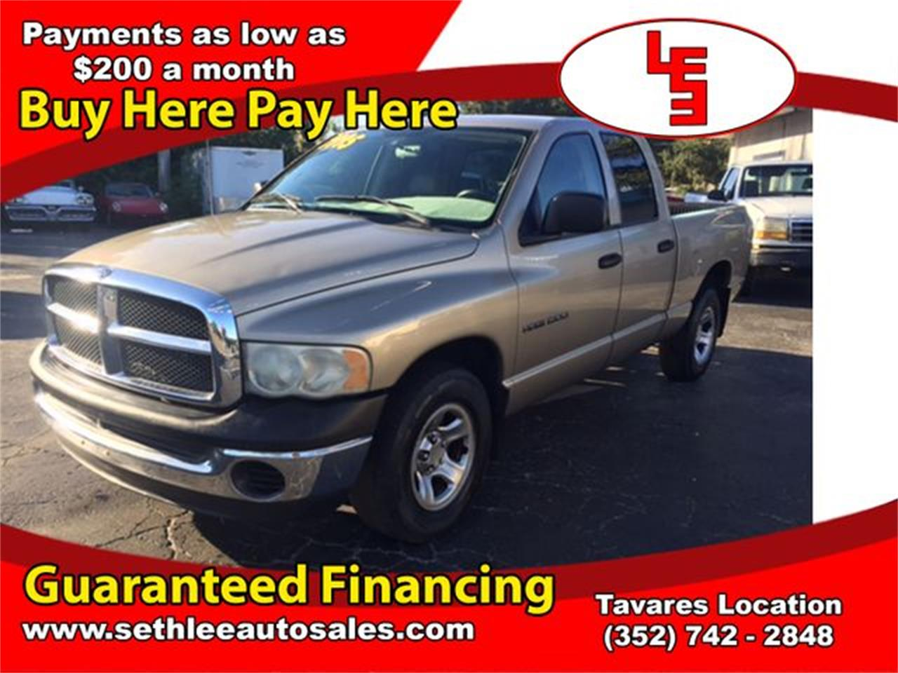 Large Picture of 2003 Ram 1500 located in Florida Offered by Seth Lee Auto Sales - M9PK