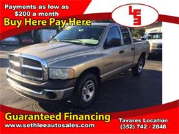 Picture of 2003 Dodge Ram 1500 located in Tavares Florida - $6,995.00 Offered by Seth Lee Auto Sales - M9PK