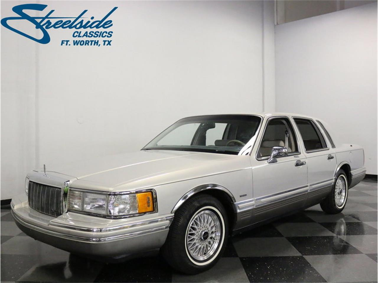 For Sale 1992 Lincoln Town Car Signature Series In Ft Worth Texas