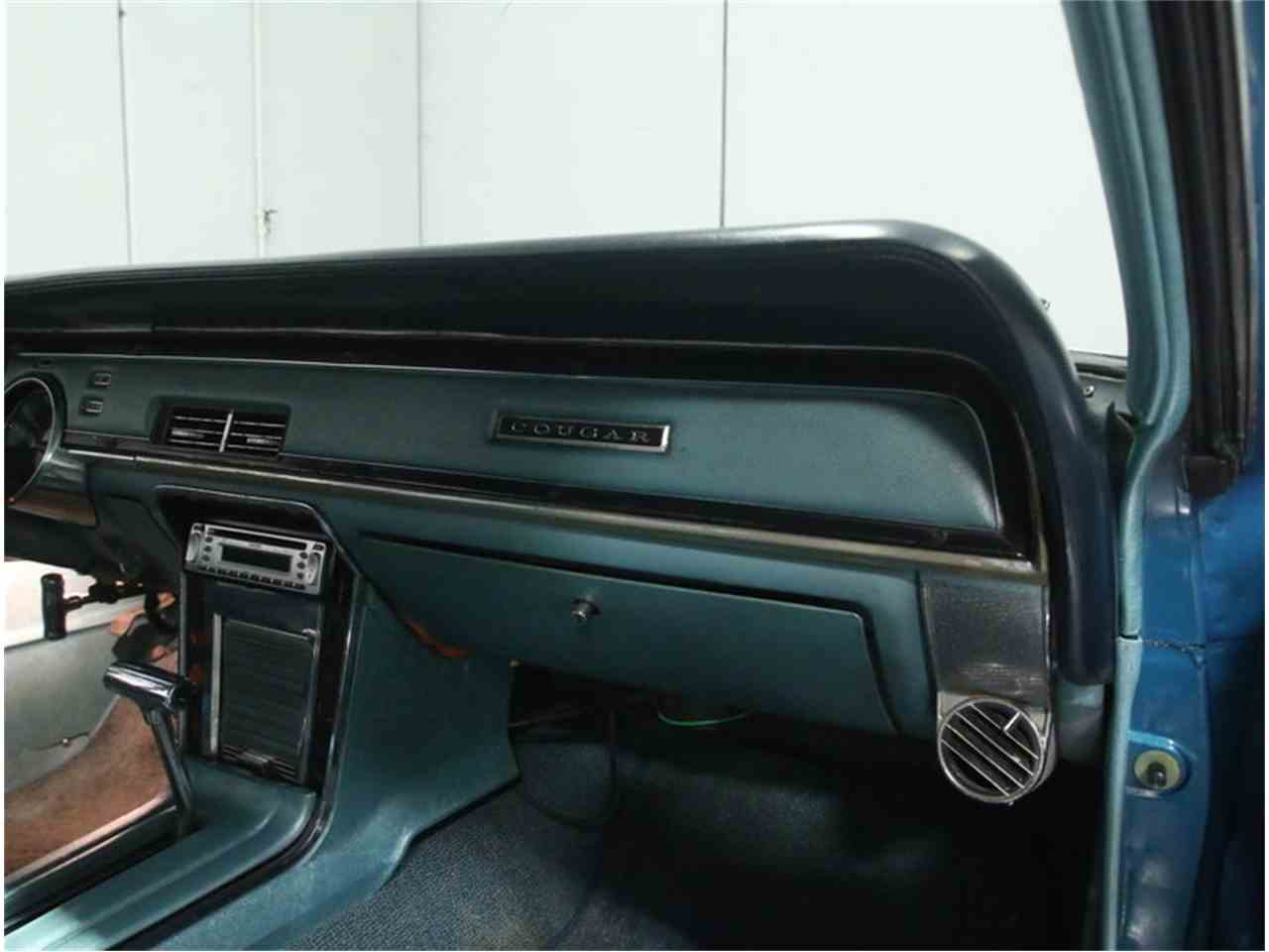 Large Picture of 1967 Mercury Cougar located in Georgia Offered by Streetside Classics - Atlanta - M9SJ