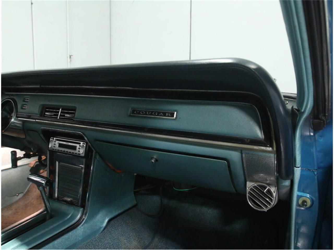 Large Picture of Classic 1967 Mercury Cougar located in Georgia Offered by Streetside Classics - Atlanta - M9SJ