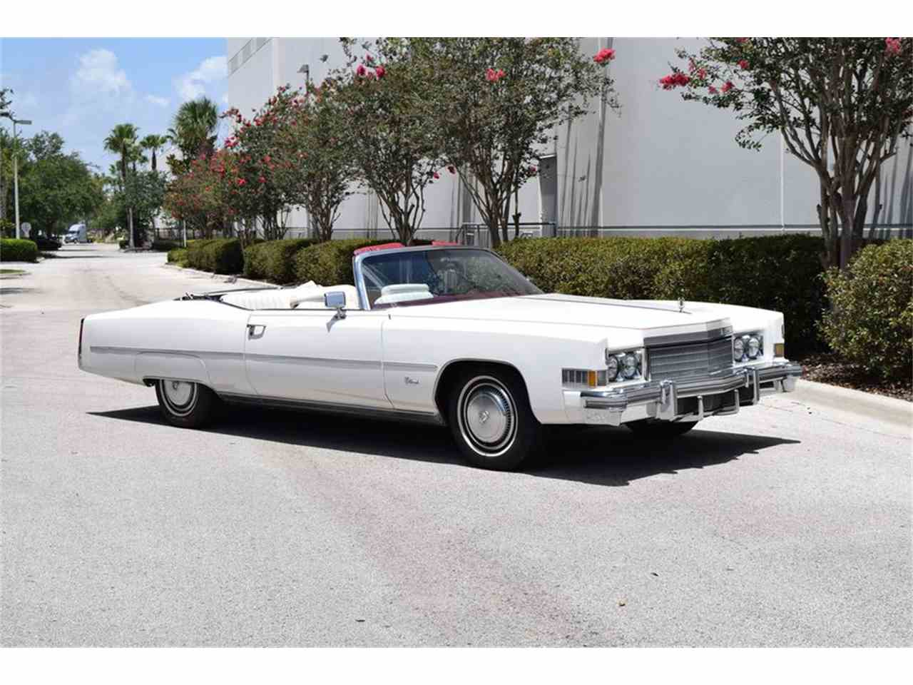 1974 Cadillac Eldorado for Sale   ClicCars.com   CC-1039312