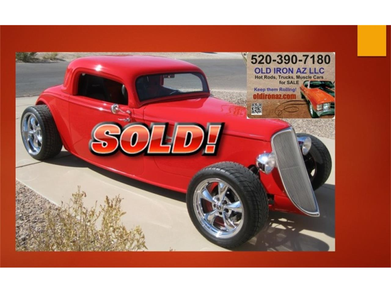 Large Picture of '33 Ford Roadster - $47,500.00 Offered by Old Iron AZ LLC - M9YC