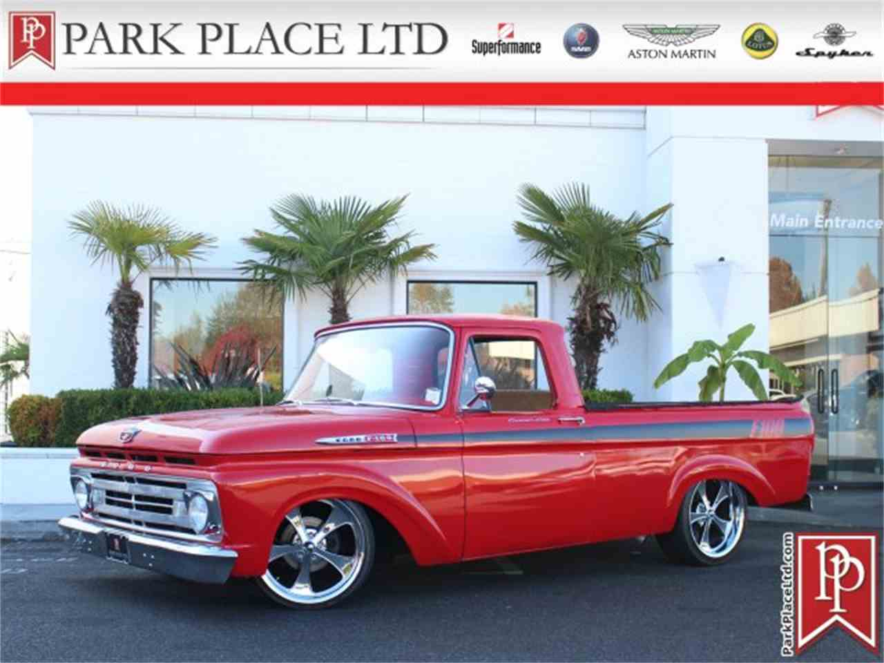 Large Picture of '62 F100 Offered by Park Place Ltd - M9YH